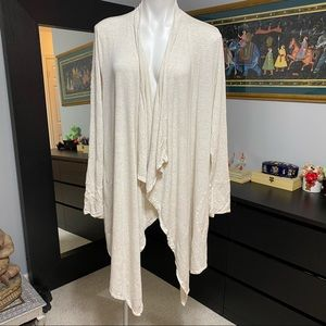 Soma Cool Nights Duster in Oatmeal- XL